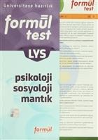 LYS Formül Test Psikoloji-Sosyoloji-Mantık
