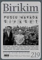 Birikim Aylık Sosyalist Kültür Dergisi Sayı: 219