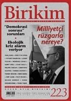 Birikim Aylık Sosyalist Kültür Dergisi Sayı: 223