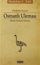 Dindarlık Siyaseti Osmanlı Uleması