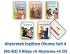 Alıştırmalı İngilizce Okuma Seti 3 (B1-B2) 5 Kitap +5 Alıştırma +5 CD