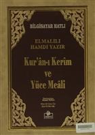 Kur'an-ı Kerim ve Yüce Meali (Kutulu, Rahle Boy, Bilgisayar Hatlı - Meal-008)