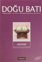 Doğu Batı Düşünce Dergisi Sayı: 17 Ekonomi