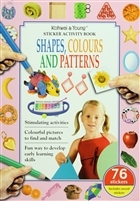 Sticker Activity Book : Shapes, Colours and Patterns