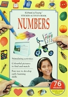 Sticker Activity Book : Numbers