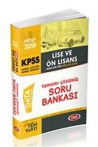 2018 KPSS Lise Ön Lisans Genel Yetenek Genel Kültür Özel Tek Kitap Tamamı Çözümlü Soru Bankası