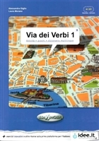 Via dei Verbi 1 A1-B1 (Attivita + giochi + dizionario multilingue)
