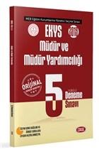 2019 EKYS Müdür ve Müdür Yardımcılığı Fasikül 5 Deneme Sınavı