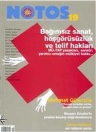 Notos Öykü İki Aylık Edebiyat Dergisi Sayı : 19