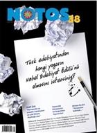 Notos Öykü İki Aylık Edebiyat Dergisi Sayı : 38