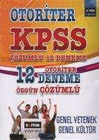 KPSS Genel Yetenek - Genel Kültür Çözümlü 12 Deneme