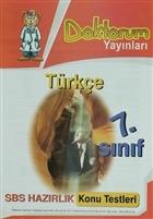 7. Sınıf Türkçe SBS Hazırlık Konu Testleri