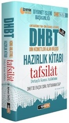 2020 DHBT Tafsilat Detaylı Konu Anlatımlı Hazırlık Kitabı
