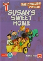 İngilizce Öyküler Level 1 Susan's Sweet Home (5 Stories In This Book)