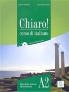 Chiaro! A2 (Ders Kitabı+CD+CD ROM) Orta-Alt Seviye İtalyanca