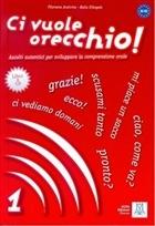 Ci Vuole Orecchio 1 + CD (İtalyanca Dinleme A1-A2)