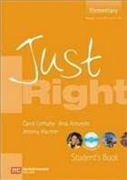 Just Right Elementary Student's Book + CD