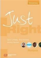 Just Right Elementary Workbook + CD