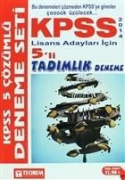 2014 KPSS Lisans Adayları İçin 5