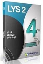 LYS-2 Fizik-Kimya - Biyoloji 4 Fasikül Deneme