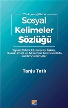 Sosyal Kelimeler Sözlüğü - Türkçe İngilizce
