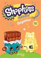 Shopkins Cicibiciler Boyama - Turuncu Kitap