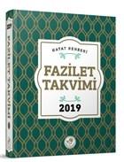 2019 Fazilet Takvim - Yurtiçi 1.Bölge Ciltli