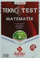10. Sınıf Matematik Tekno Poşet Test Çözüm (DVD'li)