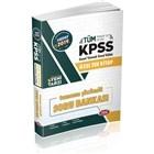 2019 Kpss Genel Yetenek Genel Kültür Tamamı Çözümlü Soru Bankası
