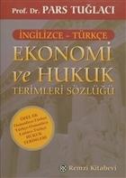 Ekonomi ve Hukuk Terimleri Sözlüğü (İngilizce - Türkçe)