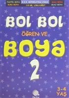 Bol Bol Öğren Ve Boya - 2 (3-4 Yaş)