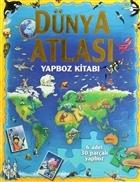 Dünya Atlası - Yapboz Kitabı