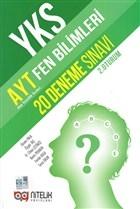 YKS AYT Fen Bilimleri 20 Deneme Sınavı (2. Oturum)