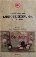 Tarih-i Enderun'un Tezkire Kısmı