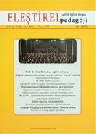 Eleştirel Pedagoji Dergisi Sayı: 14