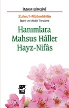 Hanımlara Mahsus Haller Hayz-Nifas