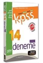 2014 KPSS Lisans 14 Çözümlü Deneme