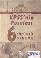 KPSS Ön Lisans Ortaöğretim KPSS'nin Pusulası 6 Çözümlü Deneme