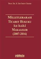Milletlerarası Ticaret Hukuku ile İlgili Makaleler
