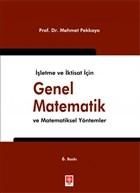 İşletme ve İktisat için Genel Matematik ve Matematiksel Yöntemler