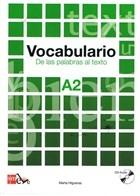 Vocabulario - De Las Palabras Al Texto A2 +CD