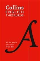 Collins English Thesaurus (New Edition)