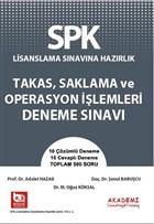 SPK Lisanslama Sınavına Hazırlık Takas, Saklama Operasyon İşlemleri Deneme Sınavı