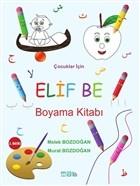 Çocuklar İçin Elif Be Boyama Kitabı