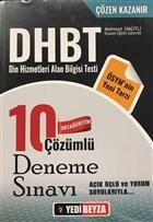 2018 DHBT Ortaöğretim Çözümlü 10 Deneme Sınavı