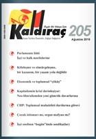 Kaldıraç Dergisi Sayı: 205 Ağustos 2018