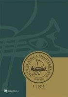 Acta Classica Mediterranea Sayı 1 - 2018