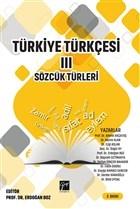 Türkiye Türkçesi 3