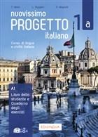 Nuovissimo Progetto italiano 1a (Libro + Quaderno + Esercizi İnterattivi + DVD + CD)
