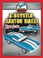 Spor Araba - 3 Boyutlu Karton Maket